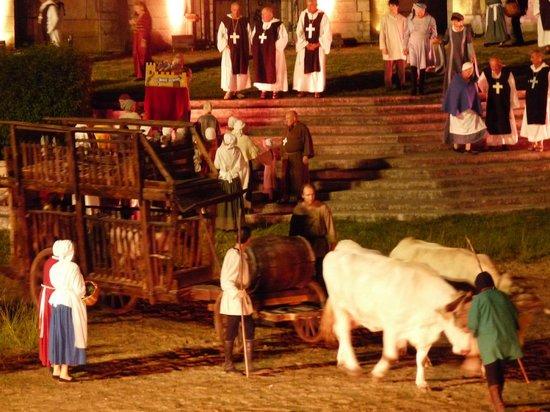 La Bataille de Castillon: Un tableau du spectacle
