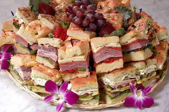 Backstreet Cafe: Catering