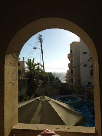 Villa Xemxija : View from room 2