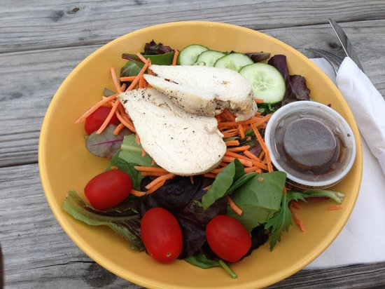 DeliBakery & Brewery at Trapp Family Lodge : chicken salad-not impressed