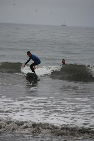Sea, Surf & Fun: The youngest learning the fastest ;o))))))