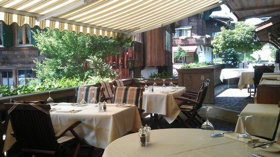 Terrasse Restaurant Chesery