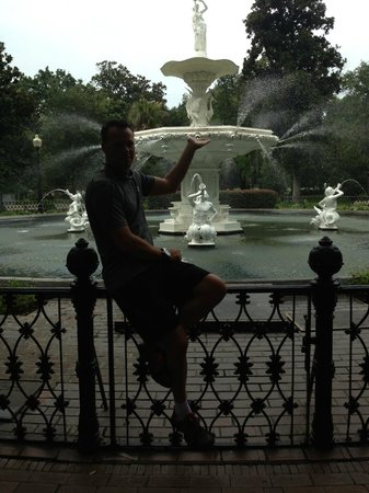 Forsyth Park Inn : Fountain