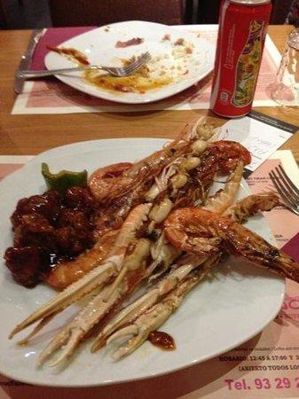 Dimsum Wok: buen bufet