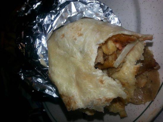 Snack Bar Mariano's: rollo de kebab de pollo