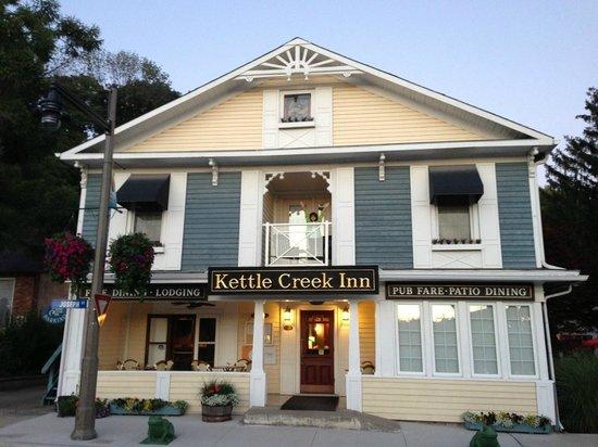 Kettle Creek Inn — Room 101 Balcony at Front of Inn
