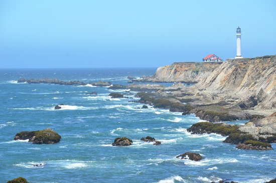 Point Arena Lighthouse & Museum : wonderful view!!!