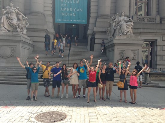 SANDEMANs NEW Europe - New York: Our group on Aug 11th, 2013