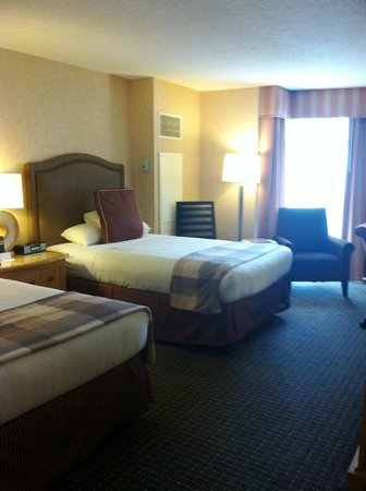 Hyatt Regency Reston: queen room