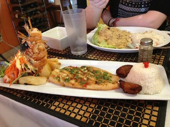 Corvina fish picture of peruvian grill sarasota for Sarasota fish restaurants