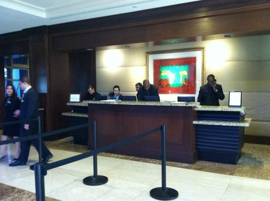 Hyatt Regency Reston: lobby