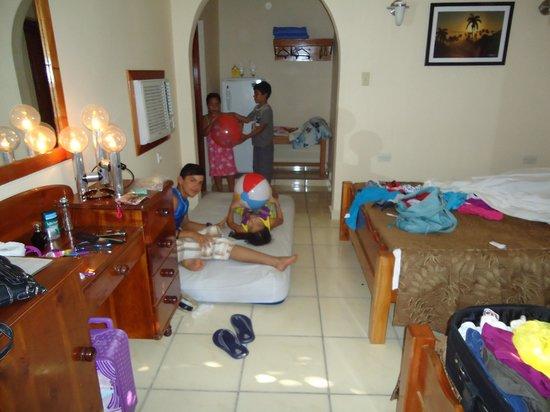 Hostal Puerto Casilda: Habitacion