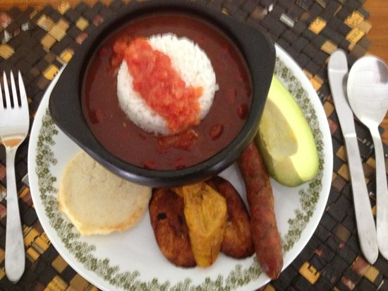 Coffee Tour Hacienda Venecia : traditional colombian lunch