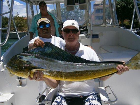 Tequila Sunrise Private Fishing Charters: mahi-mahi