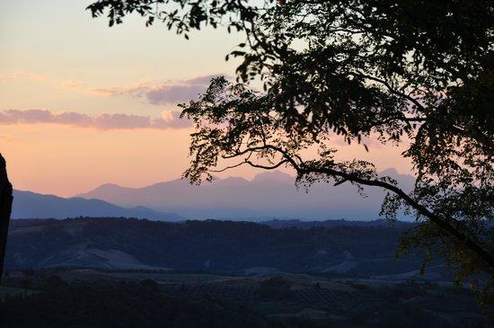 Borgo La Casaccia: vue de la terrasse