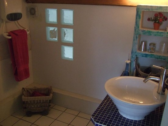 Moulin de Binard : Bathroom of L'Orientale room