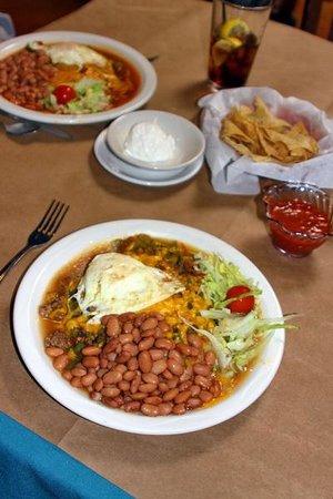 La Cocina Restaurant: Enchilada plates
