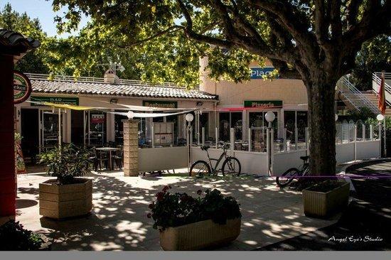 La Plage d'Argens : Restaurant bar terrase