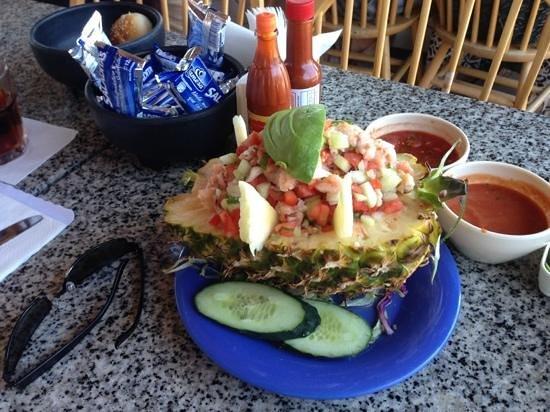 Puerto Nuevo, México: Ceviche de pescado!