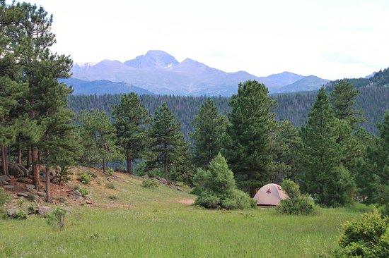 Moraine Park Campground: Tent site