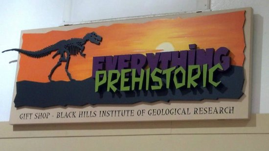 The Museum @ Black Hills Institute : Museum's Sign