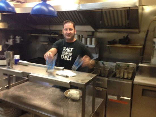 Fleur de Sel: Chef Martin at work