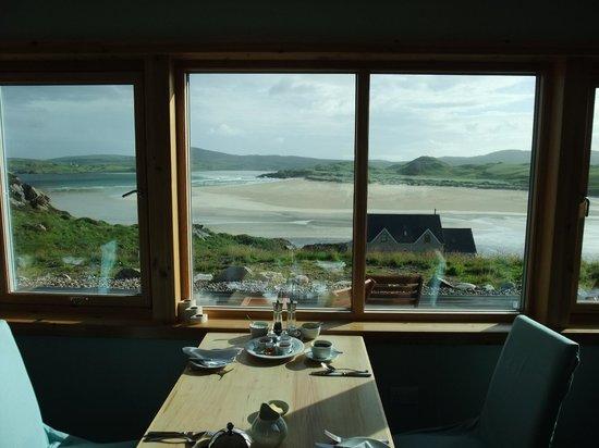 Restaurant at Auberge Carnish: Breakfast view