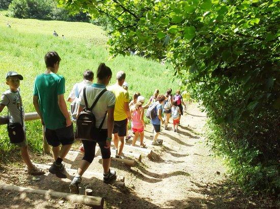 Tesero, Italia: Escursione cascata di Predazzo