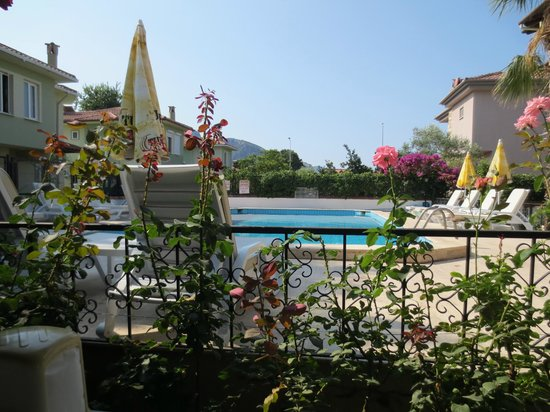 Crescent Hasirci Hotel & Villas: View over pool and garden