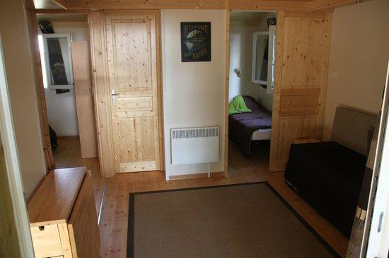 Albirondack Camping Lodge & Spa: La pièce à vivre