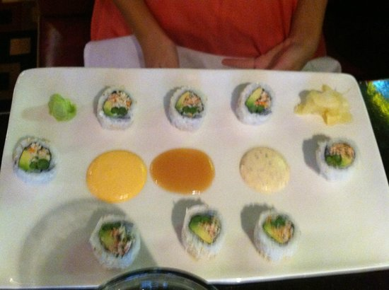 Jackson's Mighty Fine Food & Lucky Lounge: Sushi