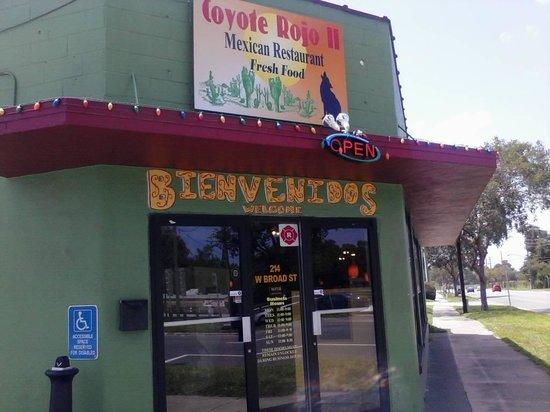 Coyote Rojo 2: good food