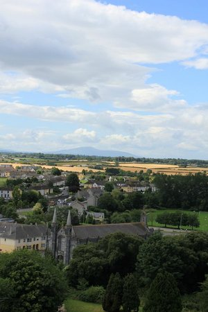 Kilkenny, Irlanda: View from the top of the tower