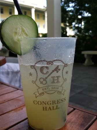 Congress Hall : Cool Cucumber- delicious!