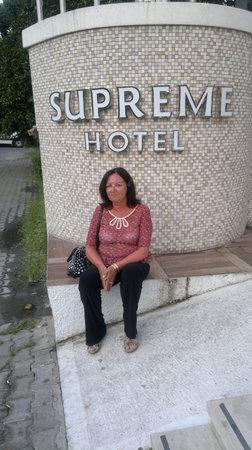 Supreme Hotel Marmaris : Entrance to Supreme Boutique Hotel.