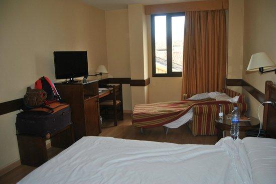 Hotel Oriente: cama supletoria