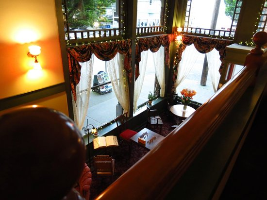 Palace Hotel Port Townsend: View from 2nd floor parlor