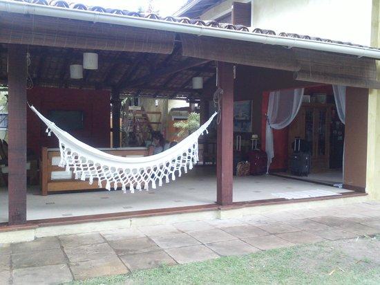 Villa das Pedras Pousada: entrada
