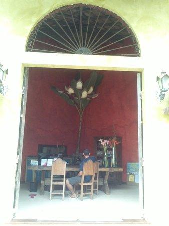 Villa das Pedras Pousada: recepção