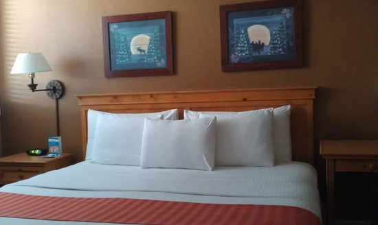 Legacy Vacation Resorts-Steamboat Hilltop: Upstairs bedroom