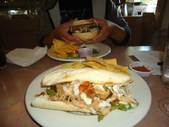 Little Village Cafe: Chicken Cheesesteak Sandwich