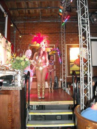 Gaucho's Village: The ladies doing the samba