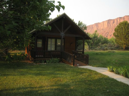 Castle Valley Inn: Our little private cabin (Anasazi Cabin)