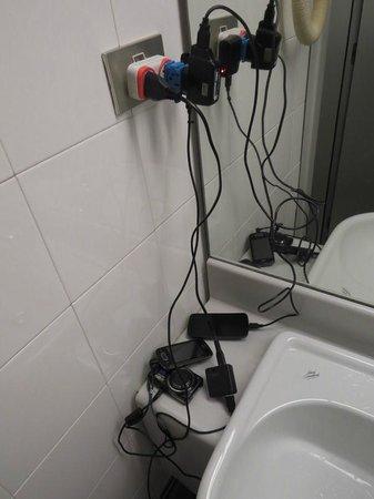 NH Torino Ambasciatori : Lack of energy plugs