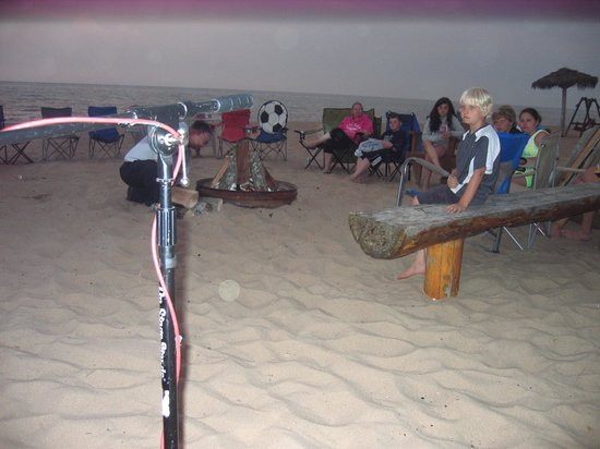 Mai Tiki Resort: The beach at TIKI