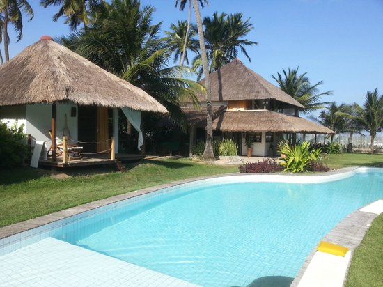 Duna Paraíso : Owners house and a bingalow + pool