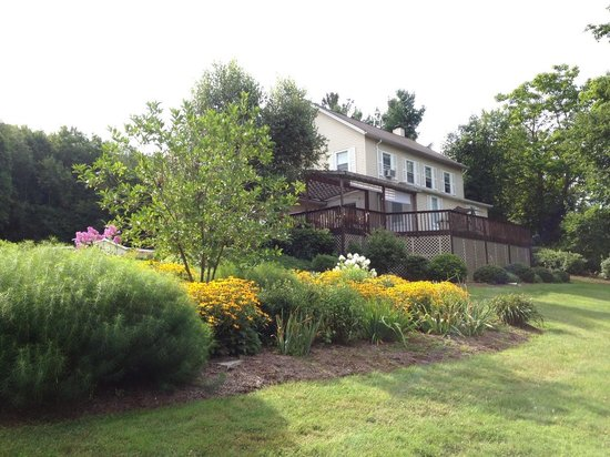 Fox Hill Bed & Breakfast: Great garden