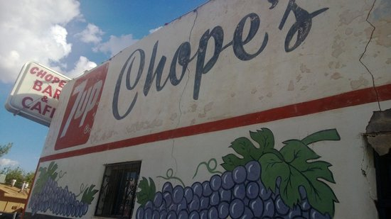 Chope's Bar and Cafe: Chope's Bar