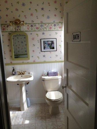 Fox Hill Bed & Breakfast: Euphrosyre bathroom