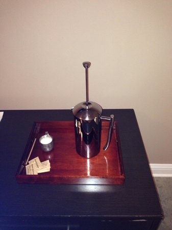 The Hotel SYNC: French press coffee :)